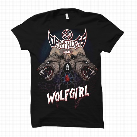 Wolfgirl - Tshirt Uomo