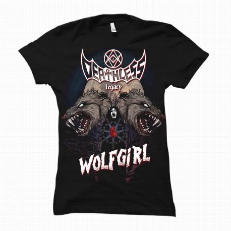 Wolfgirl - Tshirt Girlie